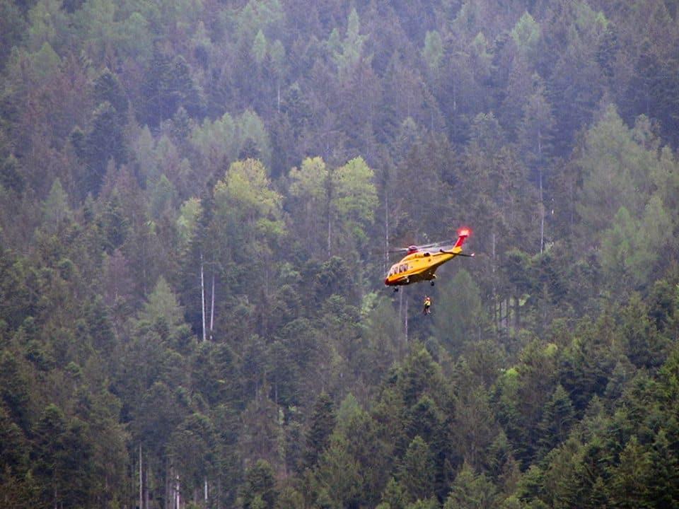Elicottero Soccorso Alpino : Cosa fare quando arriva l elicottero del soccorso alpino